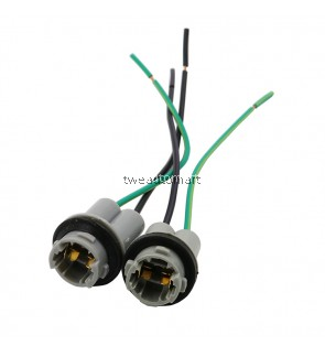 2pcs T10 30CM led bulb Connector W5W 168 194 Car Lamp Cable Auto Bulb Wire Light T15 LED Bulbs Socket adapter