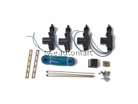 12V Universal Auto Car 4 Doors Central Lock Locking Keyless Entry System Kit 2 wires & 5 wires Auto Locking System Motor